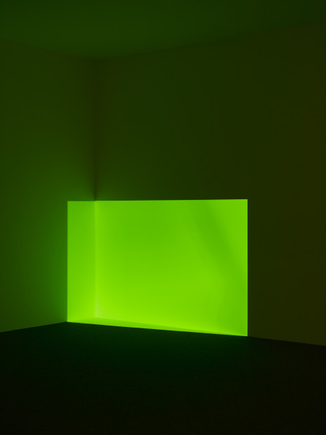 Acro, Green, 1968, projected light, the Museum of Fine Arts, Houston, Museum purchase. © James Turrell