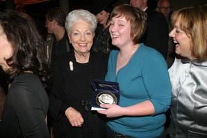 Maxson receives 2005 Arthouse Texas Prize from Governor Ann Richards