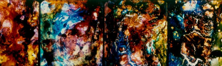 Stan Brakhage, still from Dante Quartet