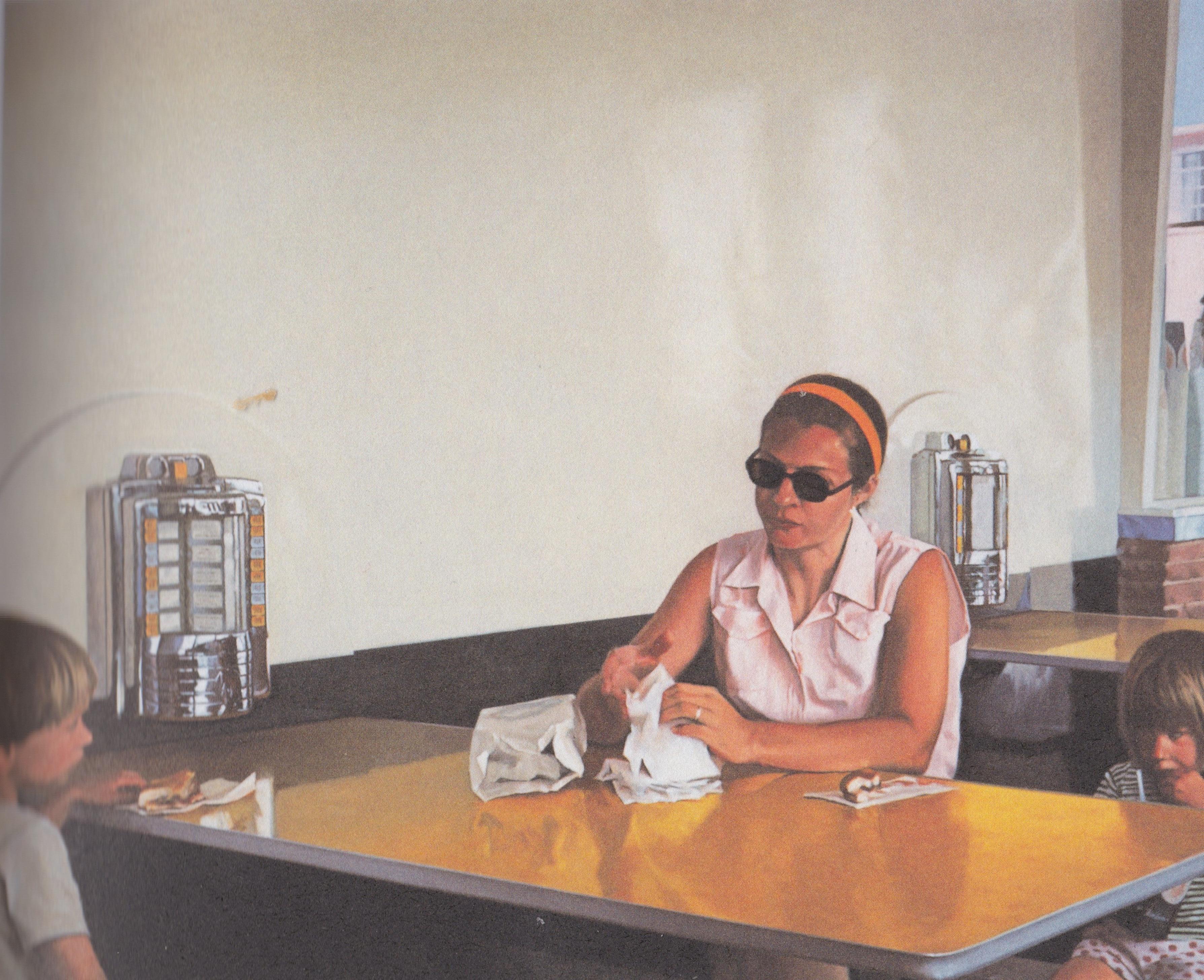 """Robert Bechtle, """"Fosters Freeze,"""" 1970, oil on linen"""