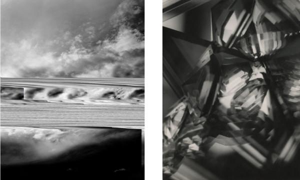 Barry Stone, Sky 3099, 2012 and Alvin Langdon Coburn, Vortograph, 1917.