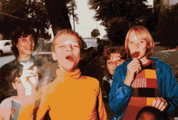 Mark Cohen, Boy in Yellow Shirt Smoking, 1977. Courtesy the artist and ROSEGALLERY