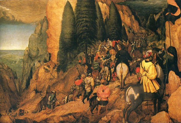 Pieter Bruegel the Elder. The Conversion of St. Paul. 1567. Oil on canvas. 108 x 156 cm.