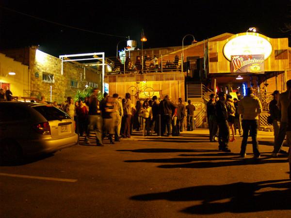 First Friday Crowd. Photo: Paul Heaston