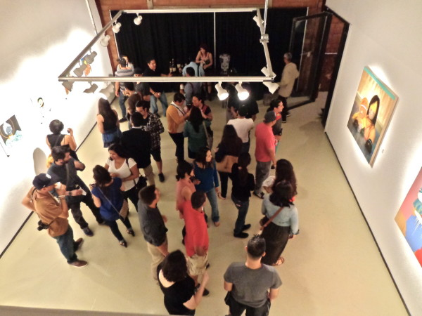 The opening of Carlos Donjuan's Dreamers at Gravelmouth