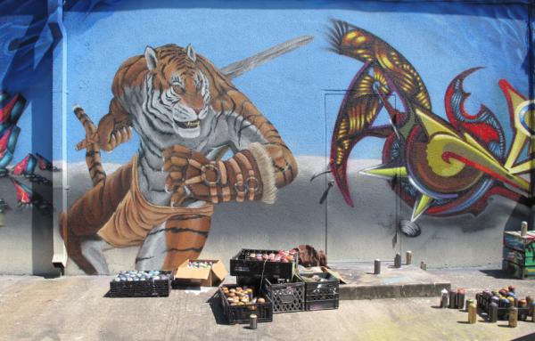 Eveybody loved the tiger