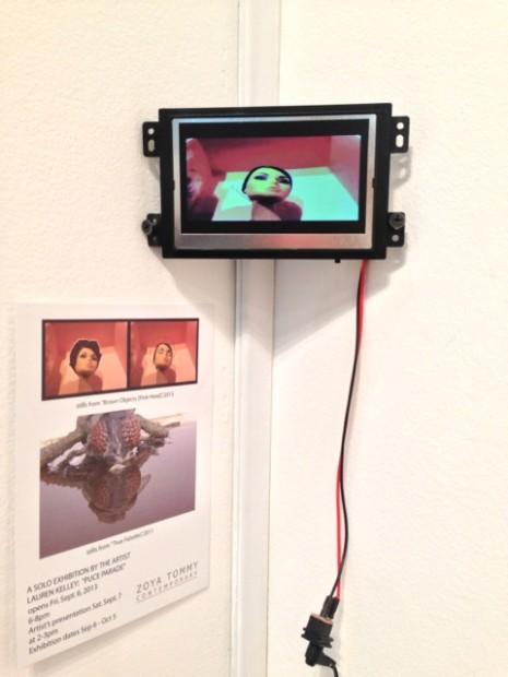 Lauren Kelley in the Zoya Tommy Gallery booth.