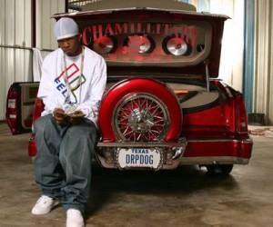 Houston-raised Chamillionaire with his slab