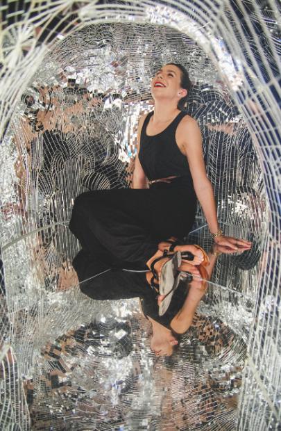 Linda Pace, Mirror, Mirror (detail). Photo by Amanda Winkles