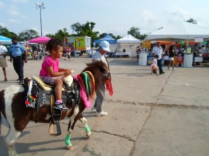 Another form of transportation at the past East End Street Fest. Photo by Karen Labuca/Culturemap