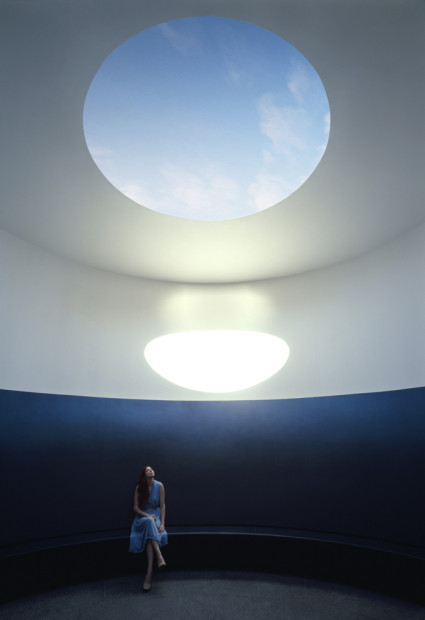 Interior of The Color Inside, 2013. Photo by Florian Holzherr