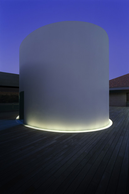 Exterior of The Color Inside, 2013. Photo by Florian Holzherr