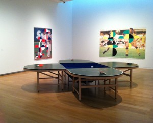 Orozco's Ping Pond Table