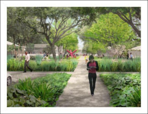 Rendering courtesy of The Menil Collection