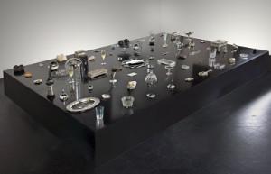 Franco Mondini-Ruiz, Crystal City, 2009. Mixed media installation, including glass, crystal, silver, plastic, and ceramic objects, dimensions variable. Smithsonian American Art Museum. Gift of Henry R. Muñoz III in honor of Debra Guerrero © 2009, Franco Mondini-Ruiz 2013.48.1
