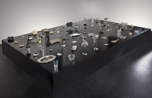 Franco Mondini-Ruiz, Crystal City, 2009. Mixed media installation, including glass, crystal, silver, plastic, and ceramic objects, dimensions variable. Smithsonian American Art Museum. Gift of Henry R. Muñoz III in honor of Debra Guerrero © 2009, Franco Mondini-Ruiz 2013.48.1