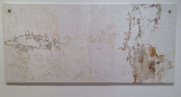 Gabriel de la Mora, Altamirano 20 I, 2012, detached ceiling from 1882 house, consolidated and mounted on aluminum frame