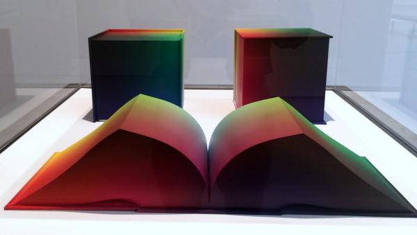 Tauba Auerbach, RGB Colorspace Atlas (Volume 1, 2 & 3), 2011