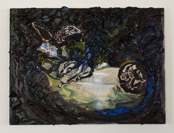 """Primitives (2013), oil on canvas, 18 x 24"""". Image courtesy the artist and Tiny Park"""