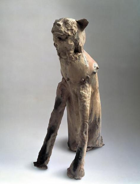 Fausto Melotti, Cat Dog (Gatto cane), 1948.  Courtesy Nasher Sculpture Center