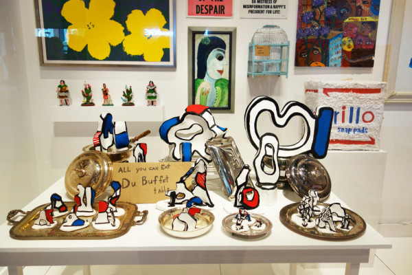 Alejandro Diaz, Diaz Art Foundation (installation detail), 2012. Mixed media installation including works by Diaz and other artists  at the RISD Museum of Art. Photo courtesy of the artist.