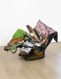 John Chamberlain, HURRAY FOR BERNIE GALVEZ (3 CENTS UNDER THE LIMIT), 1981. Dia Art Foundation, to be sold to establish a fund for acquisitions