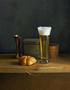 Jos van Riswick, Beer still life, 2010