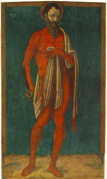 The Apostle St. Bartolomeo, Mattep di Giovanni, circa 1480