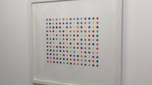 One of the stolen works: Damien Hirst, Pyronin Y, 2005