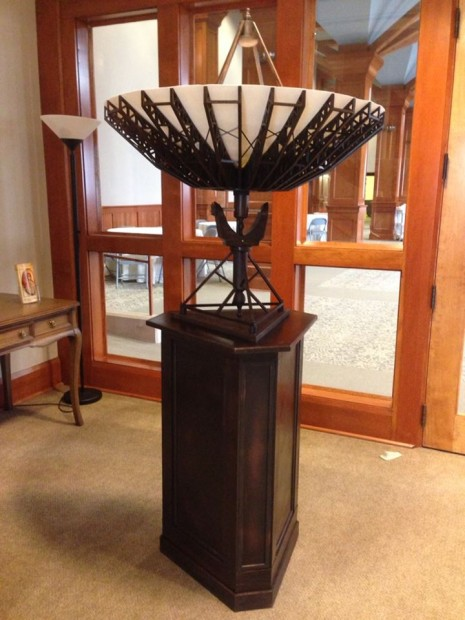 "Sauter's ""Communion"" at St. Mark's Episcopal Church."