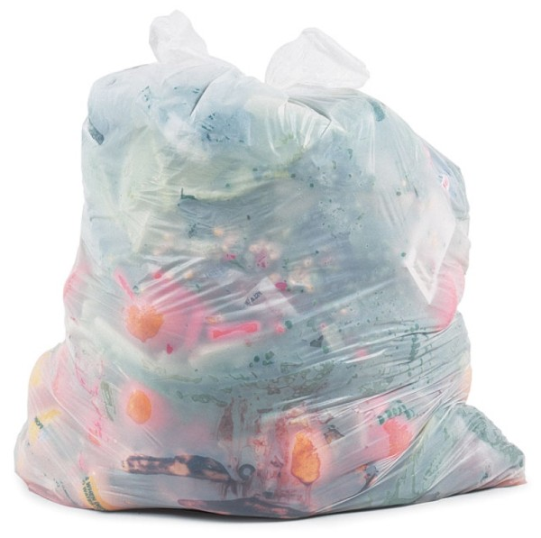 Chuck Ramirez, Trash Bag Series: Vegan