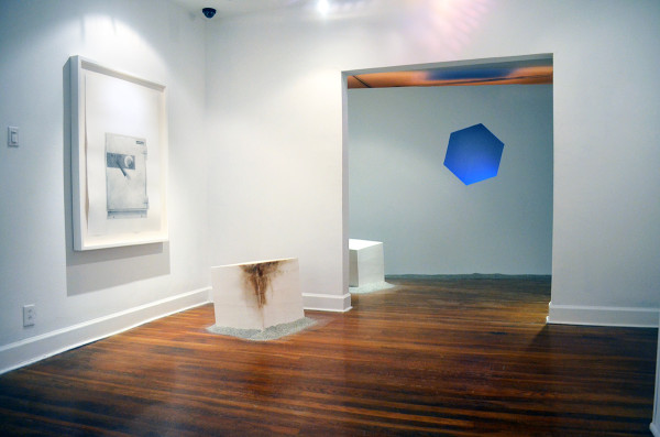 Ryder Richards, Conversations from the Museum of the Uninformed, Blue Orange Gallery, Houston (installation view)