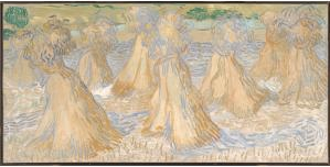 Now Online! Vincent van Gogh, Sheaves of Wheat, 1890. Dallas Museum of Art, The Wendy and Emery Reves Collection. Image courtesy Dallas Museum of Art.