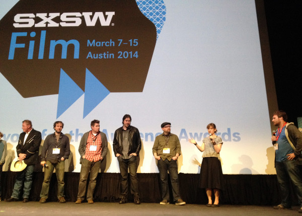 Hellion Director Kat Candler and supporting cast and crew answer questions after Hellion's second SX screening.