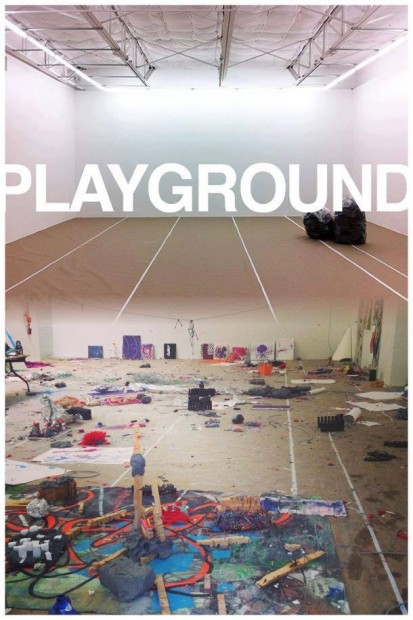 C. J. Davis and collaborators, Playground, 2013