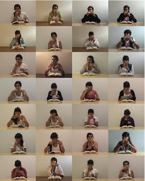 Paula Gaetano-Adi, Video Documentation—79 day performance, still, 2014