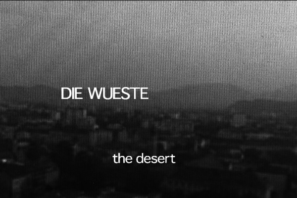 Jenny Vogel,The Desert, film still