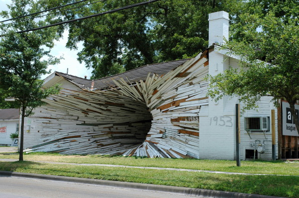 Havel Ruck Project, Inversion, 2005. Photo by Art League Houston