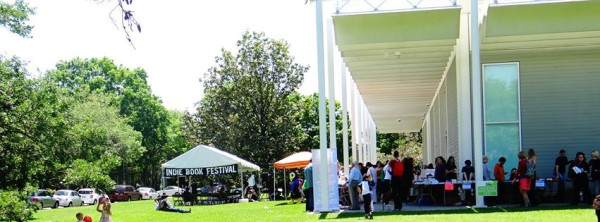 Houston Indie Book Festival, part of the annual MenilFest.