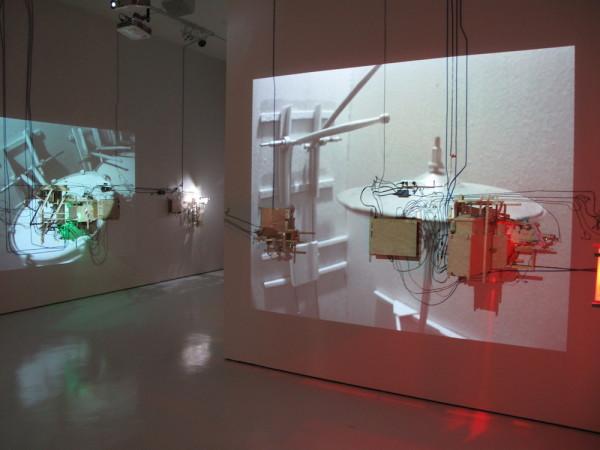 Trailer, installation view, crescendo.