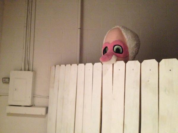 Blake, the Peeping Tom