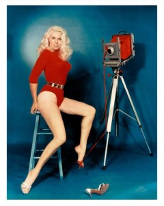 Bunny Yeager Self Portrait