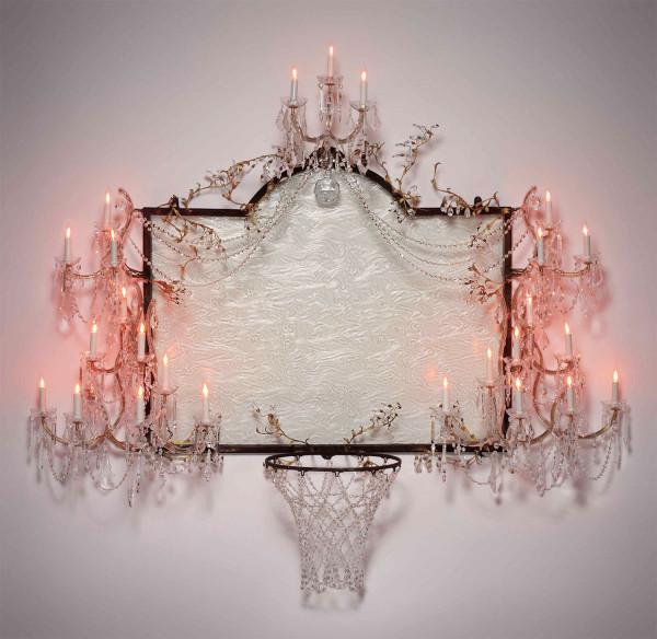 david-hammons-basketball-chandelier