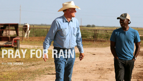 Don Cheadle in the documentary Pray for Rain, shot in Plainview, TX