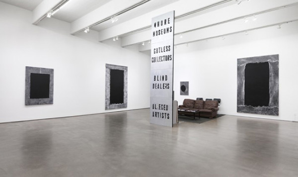 """Mark Flood's exhibition """"ARTSTAR"""" at Zach Feuer Gallery, 2012"""