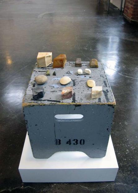 James Sullivan's work at the Art Foundation's Fountainhead exhibition, 2012