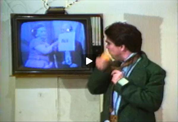 Down in the Rec Room, 1979. (video still)