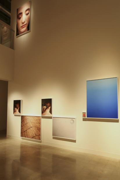 Installation view of James Scheuren's 2014 MFA show at the UT Austin VAC