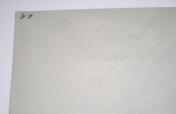 <em>Untitled</em>, 2014 (detail). Graphite, Goache, pastel, and conté on paper, 80 x 81 inches.