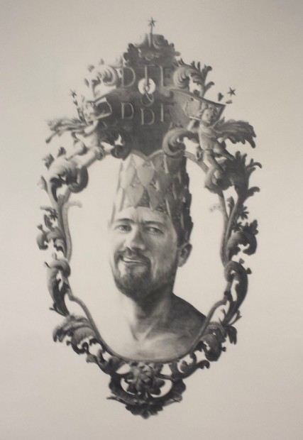 Mark Harold Ponder, DTF & DDF Graphite on paper.